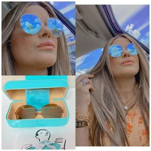 💯Tiffany & Co. - Round TF 3053 Sunglasses